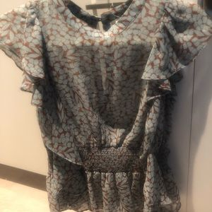 Feather bone by Anthropologie Top